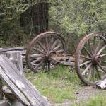 """""""Weathered Wagon Wheels"""" by ClotheslineArt"""