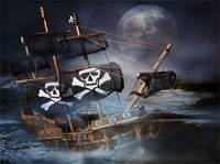 ON THE ROCKS  PIRATE GHOST SHIP