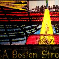 America is Boston Strong! Art Prints & Posters by Joyce MacPhee