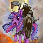 My Little Death Dealer by Derek Chatwood