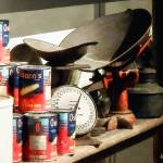 """Scale and Canned Goods"" by susansartgallery"