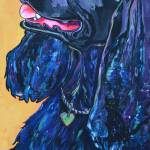 """Black Cocker Spaniel"" by artbypatti"