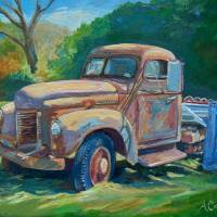 Farm Truck Art Prints & Posters by Anna Castelli