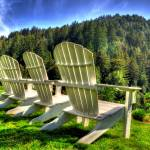"""Adirondack Chairs"" by snapshotsmity"