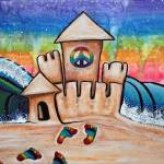 """Hippie Sand Castle"" by ArtPrints"