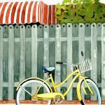 """""""Beach Bike print"""" by studiobythesound"""