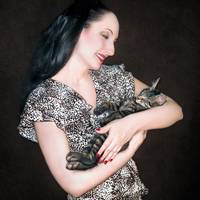 Kitten Love - Self Portrait w/Mikino