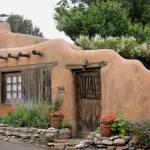 """Old Santa Fe Cottage"" by GordonBeck"