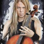 """Eicca Toppinen - Apocalyptica"" by MelanieD"