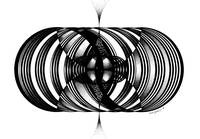 Sacred Geometry Torus 369 TRUE BLACK