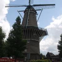 De Gooyer Windmill Amsterdam Art Prints & Posters by Valerie Waters