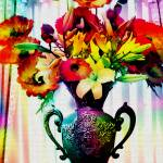 """Floral Still Life Fiore Fiesta"" by GinetteCallaway"