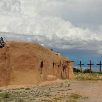Primitive New Mexico Church Art Prints & Posters by Gordon Beck