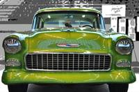 '55 Chevy BelAir Show Car Lime Green