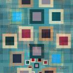 """""""Teal Boxes"""" by RuthPalmer"""