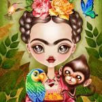 """Frida Querida"" by sandygrafik_arts"
