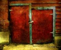 Vincent's Red Barn Doors