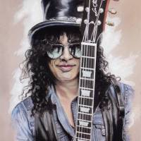 Slash Art Prints & Posters by Melanie D