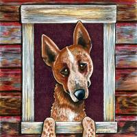 A Rosie Welcome Art Prints & Posters by Off-Leash Art™