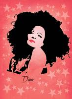 Diana Ross - Miss Ross - Pop Art