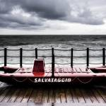 """A little rescue boat on the dock"" by ItalianPhotos"