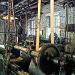 """Large Lathe in Machine Shop"" by susansartgallery"