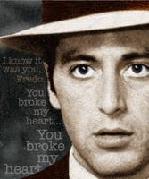 Al Pacino as Michael Corleone and Fredo Quote