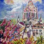 """Spring In Normandy France Basilica Of St. Therese"" by GinetteCallaway"