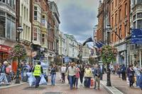 Shopping On Grafton Street