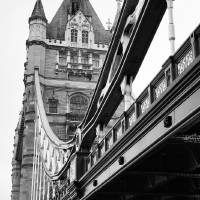 Tower Bridge in Black and White Art Prints & Posters by Ian Middleton