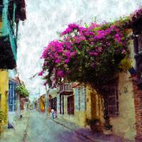 Old Cartagena Art Prints & Posters by Kurt Van Wagner