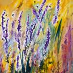 """Wild Lavender and Bees Provence"" by GinetteCallaway"