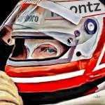 """Race Car Driver"" by ArtbySachse"