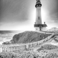 Pigeon Point Lighthouse California Art Prints & Posters by Bob M