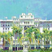US Grant Hotel Downtown San Diego Art Prints & Posters by RD Riccoboni