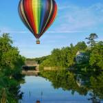 """Quechee Hot Air Balloon"" by fielding"