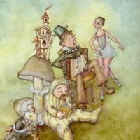 aMUSEments Art Prints & Posters by Laurel Nelson