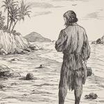 """Robinson Crusoe on his island"" by fineartmasters"