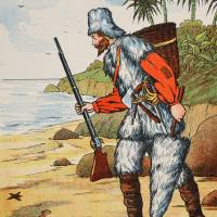 Robinson Crusoe Art Prints & Posters by The Fine Art Masters