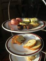 High tea pastries