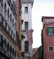 Venetian Buildings & Flag