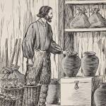 """""""Robinson Crusoe in his storeroom"""" by fineartmasters"""