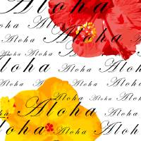 Aloha Flowers Art Prints & Posters by Brandi Carroll