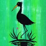 """Egret on One Leg"" by LimeCreekArt"