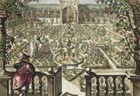 Spring Garden, from 'Hortus Floridus', published 1