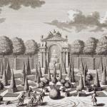 """A parterre with orange trees in the garden of the"" by fineartmasters"