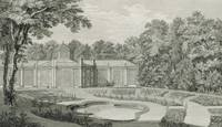 A View of the Aviary and Flower Garden at Kew, fro