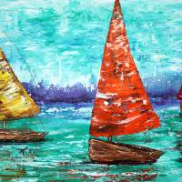 Sailboat Dreams Art Prints & Posters by Laura Barbosa