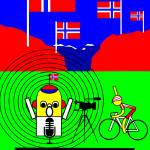 """tour-de-france-2014-stage-12-kristoff-norway"" by Lonvig"