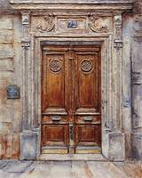 Parisian Door on Rue Lauriston